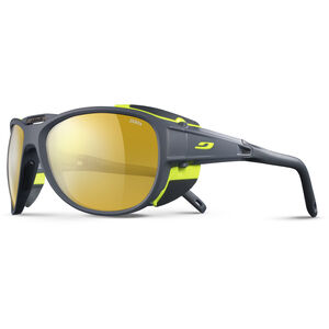 Julbo Explr 2.0 Zebra Sunglasses matt gray/green-yellow/brown matt gray/green-yellow/brown