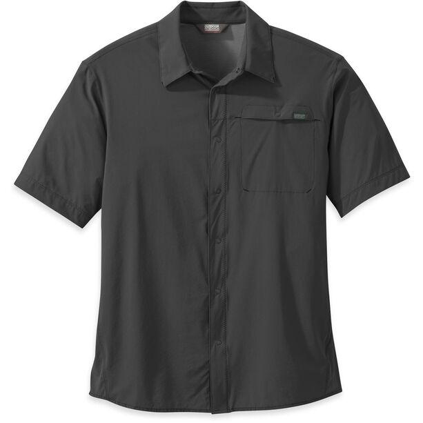 Outdoor Research Astroman S/S Sun Shirt Herr charcoal