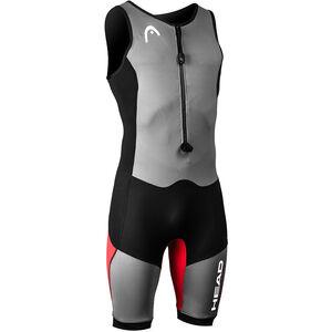 Head Swimrun MyBoost Lite Wetsuit Dam black/silver/red black/silver/red