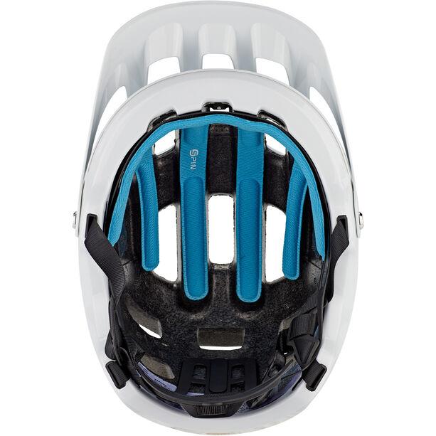 POC Tectal Race Spin Helmet hydrogen white/uranium black