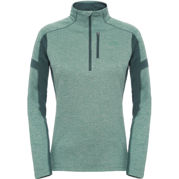 The North Face Impulse Active 1/4 Zip Top Dam blsmgn/drkstspc