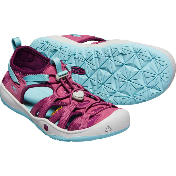 Keen Moxie Sandals Barn red violet/pastel turquoise