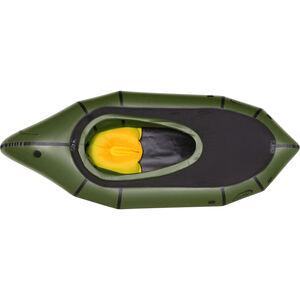 nortik TrekRaft Expedition Boat with Hood dark green/black dark green/black