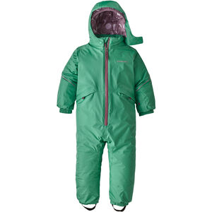 Patagonia Snow Pile One-Piece Baby Barn Plains Green Plains Green