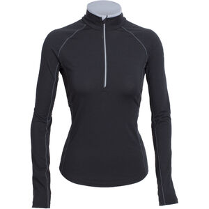 Icebreaker Zone LS Half Zip Shirt Dam black/mineral/mineral black/mineral/mineral
