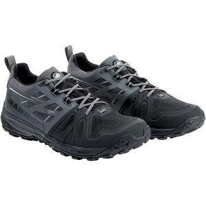 Mammut Saentis Low GTX Shoes Herr black-dark titanium black-dark titanium
