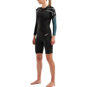 2XU SR:Pro-Swim Run SR1 Wetsuit Dam Black/Aquarius Black/Aquarius