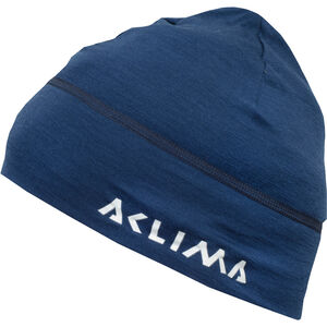 Aclima LightWool Beanie insignia blue insignia blue