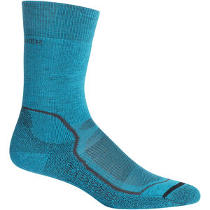 Icebreaker Hike+ Medium Crew Socks Dam Arctic Teal Arctic Teal