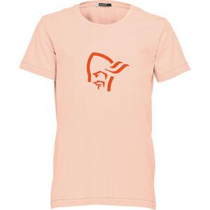 Norrøna /29 Cotton Logo T-Shirt Barn world peach world peach
