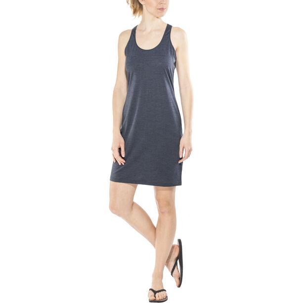 super.natural Essential Racer Dress Dam navy blazer melange