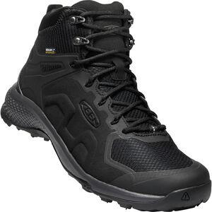 Keen Explr WP Mid Shoes Herr Black/Magnet Black/Magnet
