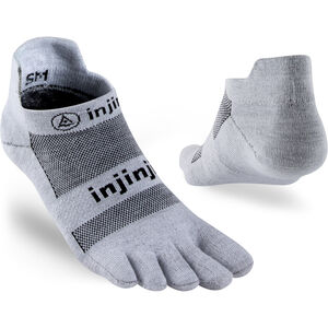 Injinji Run LW Sneakersocks No-Show Gray Gray