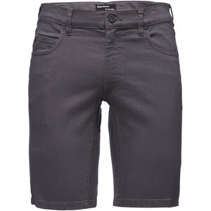 Black Diamond Stretch Font Shorts Herr anthracite anthracite