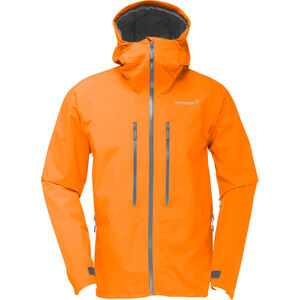 Norrøna Trollveggen Gore-Tex Light Pro Jacket Herr Pure Orange Pure Orange