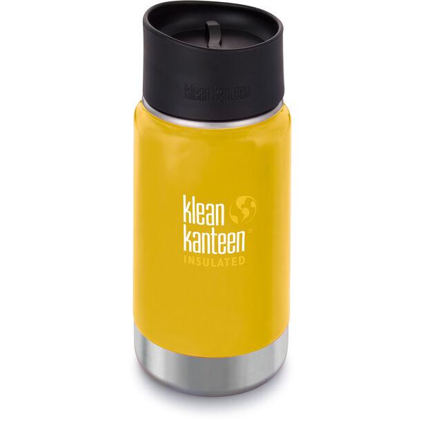 Klean Kanteen Wide Vacuum Insulated Bottle Café Cap 2.0 355ml lemon curry matt