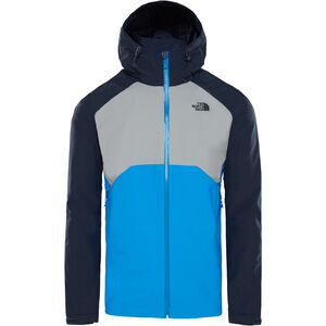 The North Face Stratos Jacket Herr bomber blue/mid grey/urban navy bomber blue/mid grey/urban navy