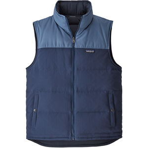 Patagonia Reversible Bivy Down Vest Herr stone blue/woolly blue stone blue/woolly blue