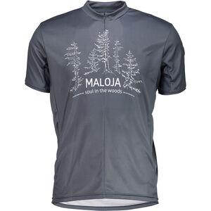 Maloja ZwingseeM. Multi Short Sleeve Multisport Jersey Herr waterfall waterfall