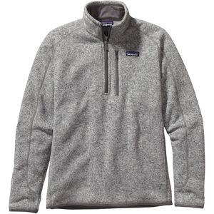 Patagonia Better Sweater 1/4 Zip Herr stonewash stonewash