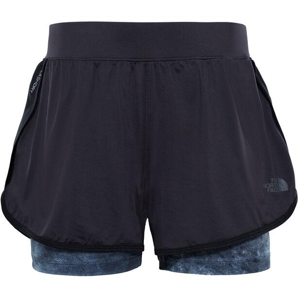 The North Face Versitas 2in1 Shorts Dam tnf black/tnf black chalk print