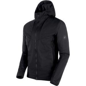Mammut Rime Light IN Flex Hooded Jacket Herr black black