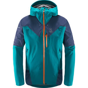 Haglöfs L.I.M Touring PROOF Jacket Herr alpine green/tarn blue alpine green/tarn blue