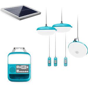 BioLite SolarHome System 620 Lighting bluegreen bluegreen