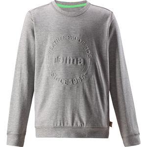 Reima Ljung Pullover Boys Melange Grey Melange Grey