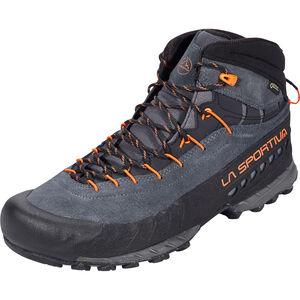 La Sportiva TX4 Mid GTX Shoes Herr carbon/flame carbon/flame