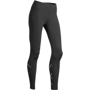 2XU Run Mid Rise Compression Tights Dam black/silver reflective black/silver reflective