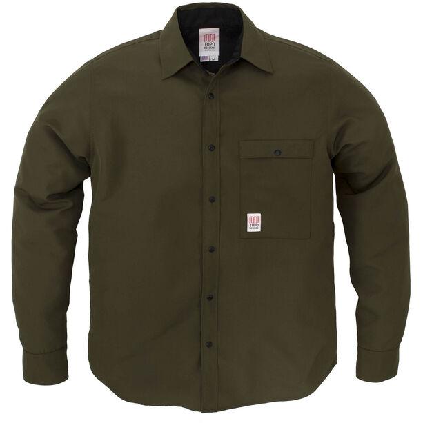 Topo Designs Breaker Shirt Jacket Herr olive