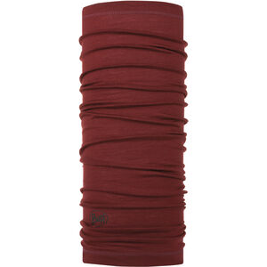 Buff Lightweight Merino Wool solid wine solid wine