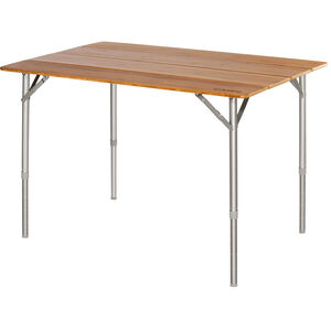 CAMPZ Bamboo Folding Table 100x65x65cm