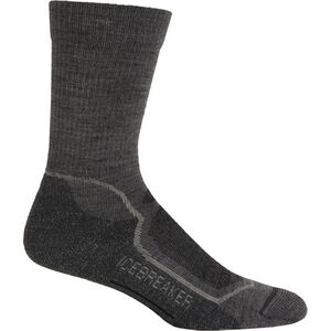 Icebreaker Hike+ Light Crew Socks Herr twister/silver/oil twister/silver/oil