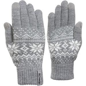 KOMBI Scandinave PP Gloves Dam Hear Grey Hear Grey