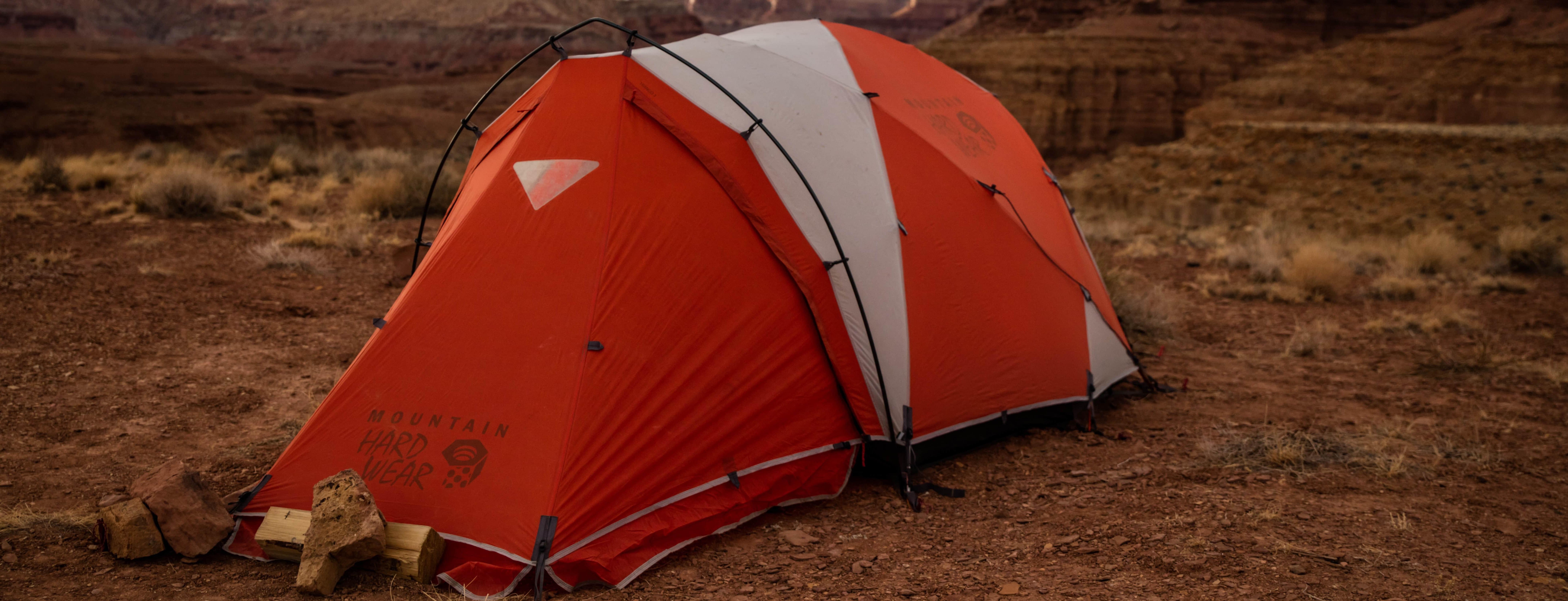 Att vårda sitt tält