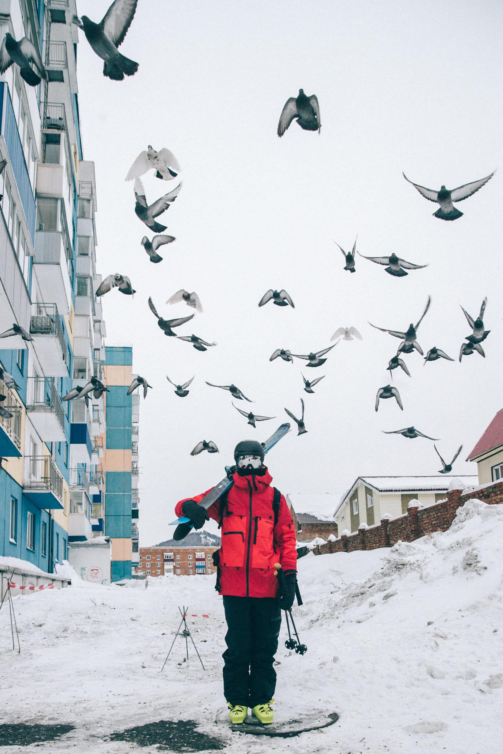 Skidstopp i Ryssland