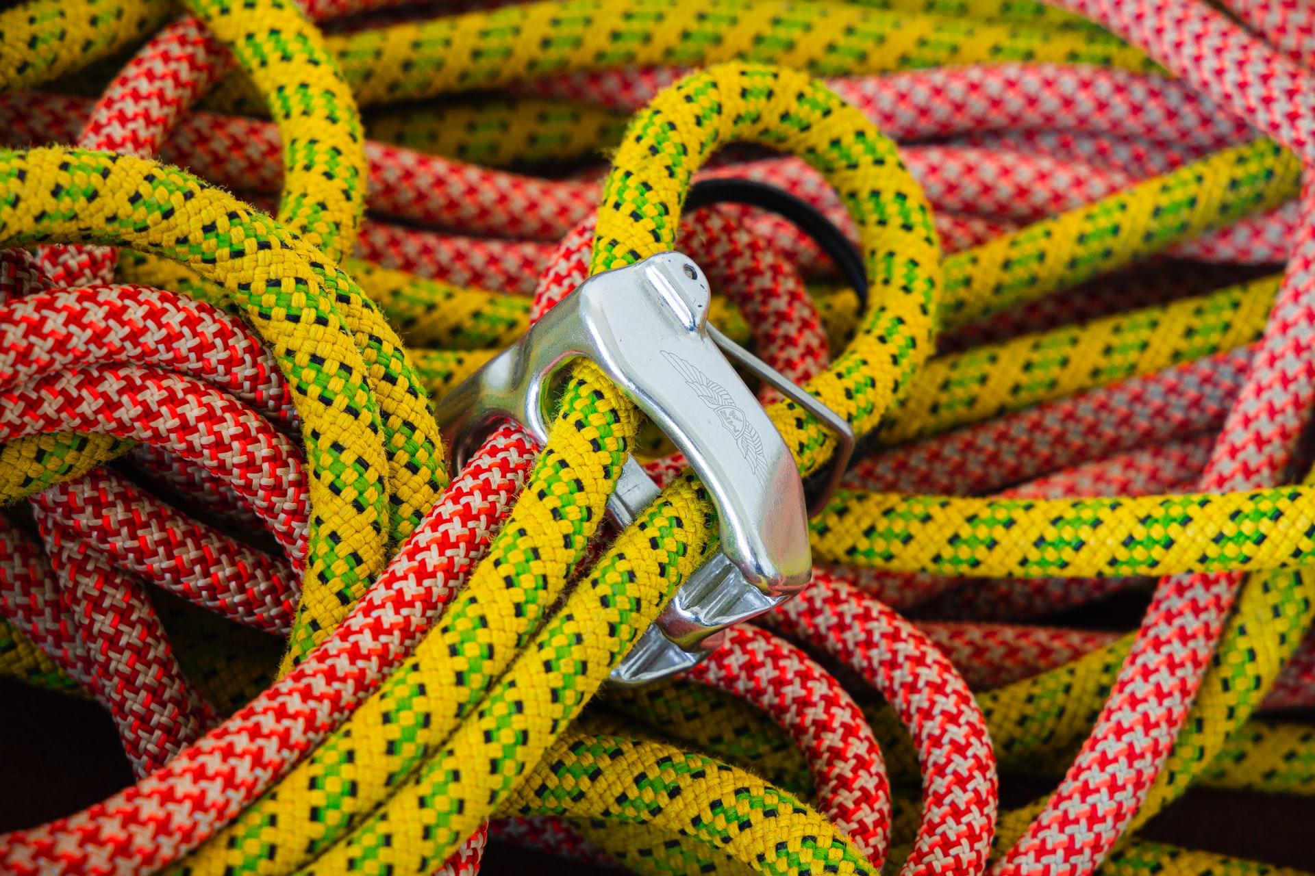 Isklättring rep