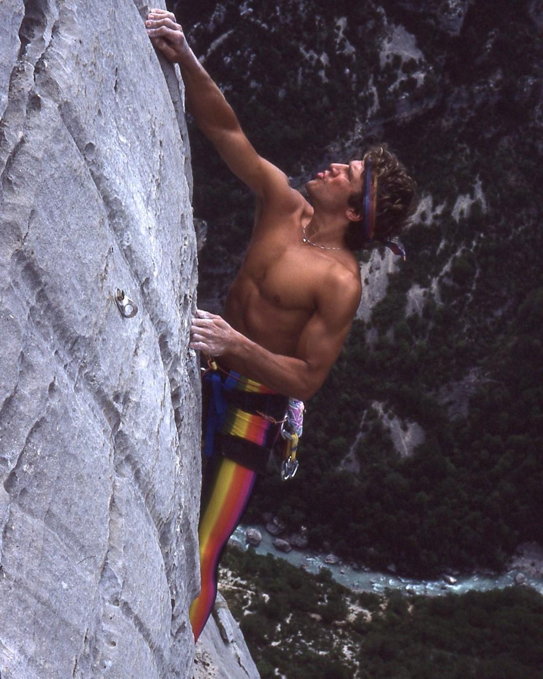 80-talet klättring