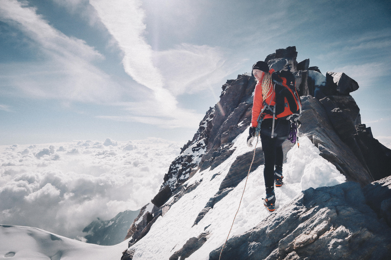 Emmas utrustningstips för bergsbestigning