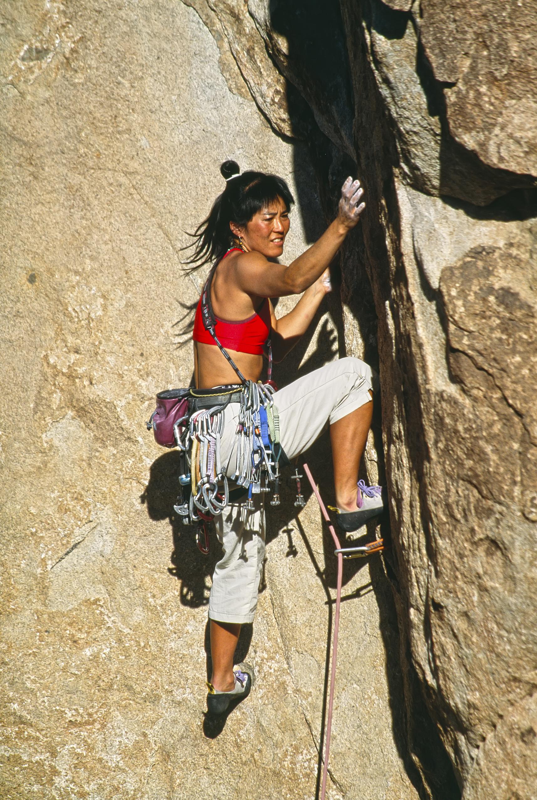 90-talet klättring