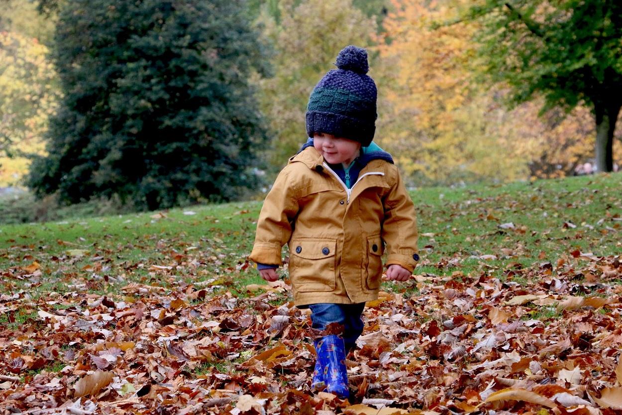 Klä ditt barn efter säsong