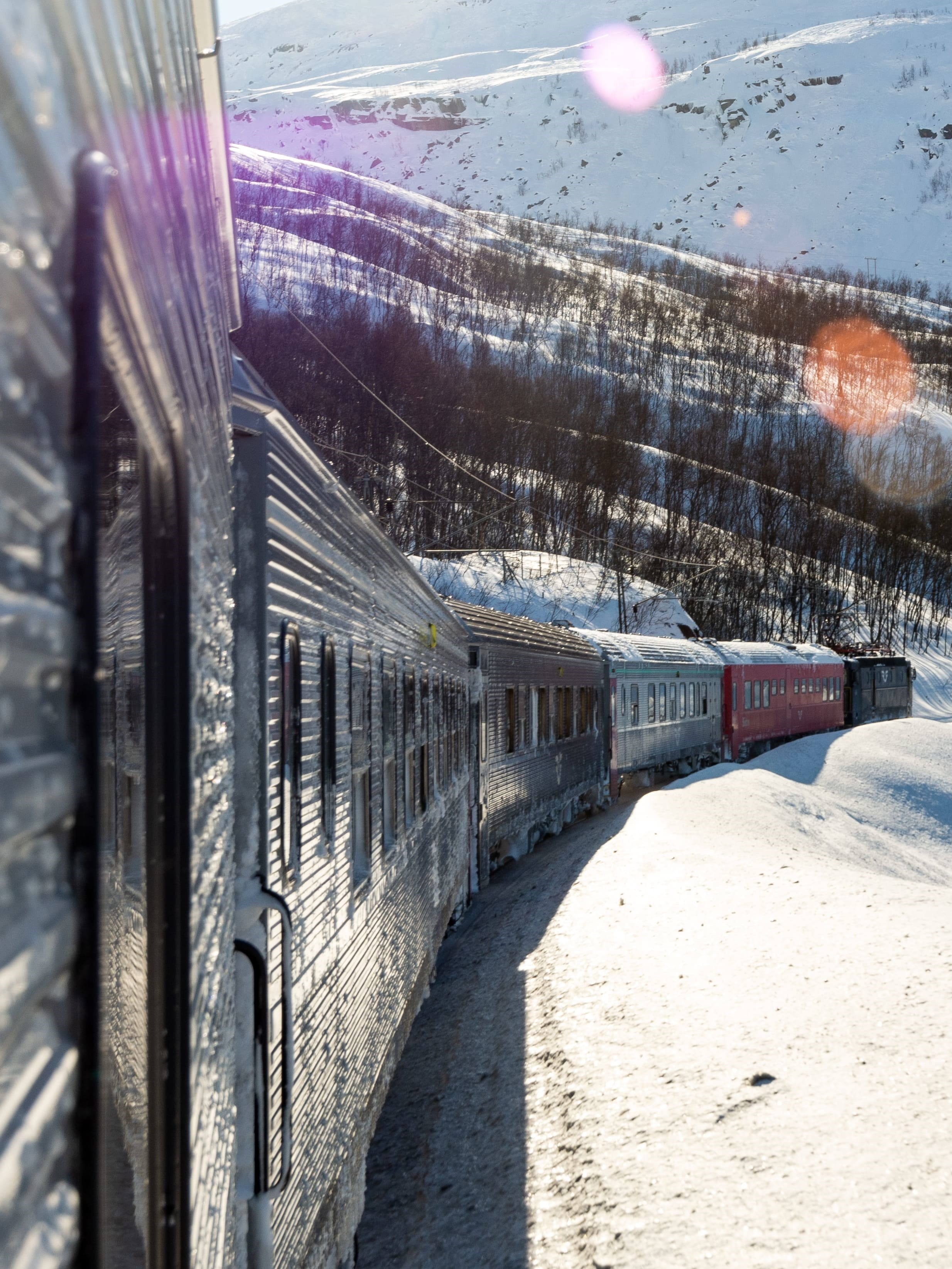 Tåg mot Svalbard